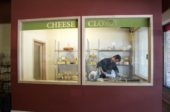 Walla Walla Gourmet: Walk-in cheese closet