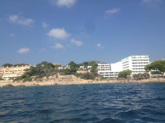Olimarotel Gran Camp de Mar: view from the pedalo