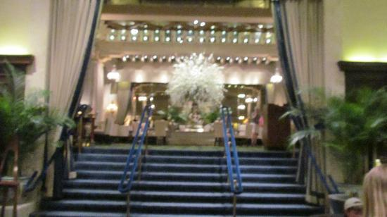 "The Drake Hotel: Looking into ""The Palm Court"" from the lobby"