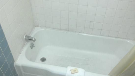 Days Inn Wilmington/newark: Yucky tub