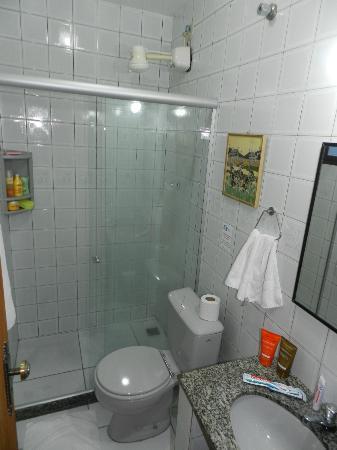 Pousada dos Meros: Banheiro