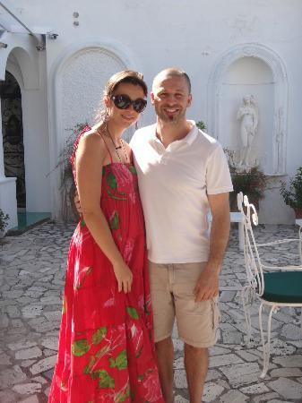 Antonio & Alessandra - owners of Il Portico