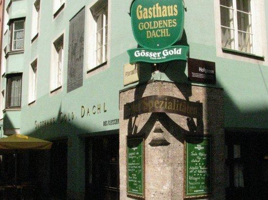 Restaurant Goldenes Dachl: Gasthaus Goldenes Dachl