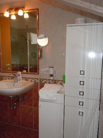 Residence-Pension Gasser : Bagno dell'appartamento