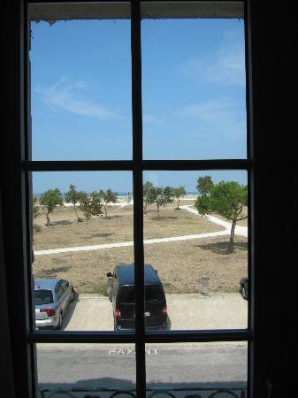 Hotel Le Galion : Vue de notre chambre