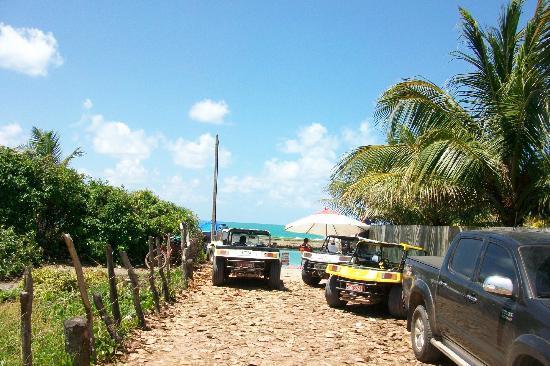 Praia de Muro Alto: acceso