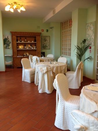 President Hotel: sala colazione e ristorante