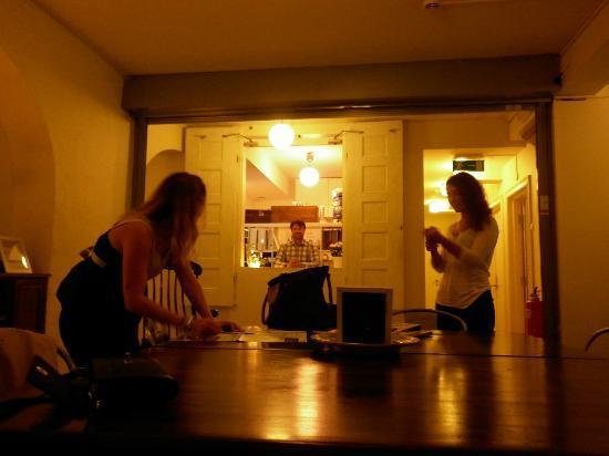Old Town Lodge: réception et espace salon