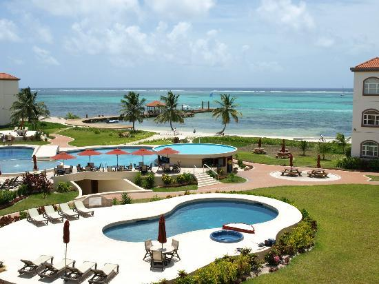 Grand Caribe Belize Resort and Condominiums: Room view
