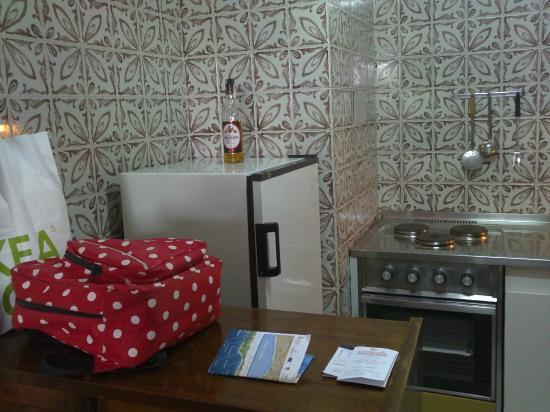 Apartamentos Chinasol: la cocina
