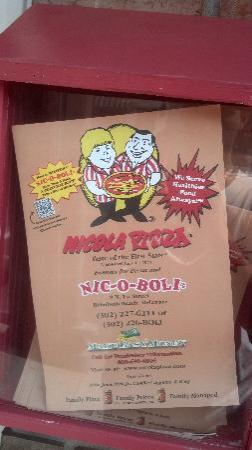 Nicola Pizza : Menu