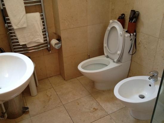 President Hotel: bagno in camera