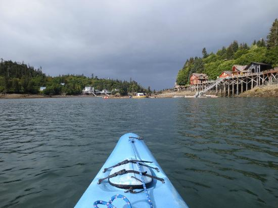Stillpoint Lodge: Kayaking in the Cove