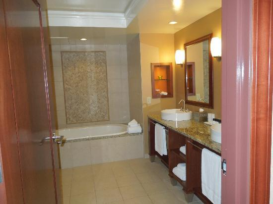 Mount Airy Casino Resort: One side of bathroom