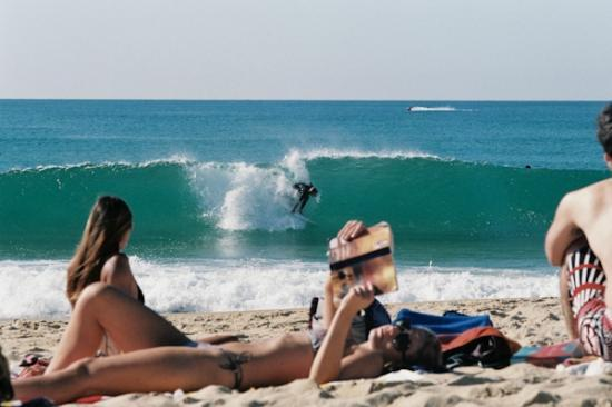 Le Surfing: Straight out the front, this is what you can expect.