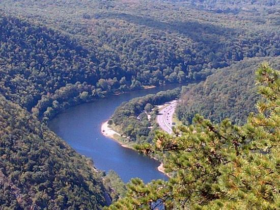 Camp Taylor: view if delaware water gap