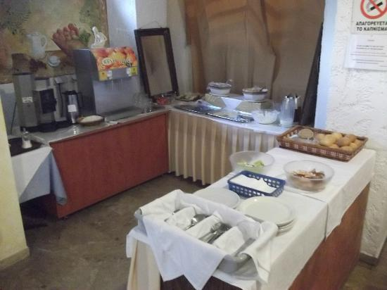 Noufara City Hotel : The breakfast