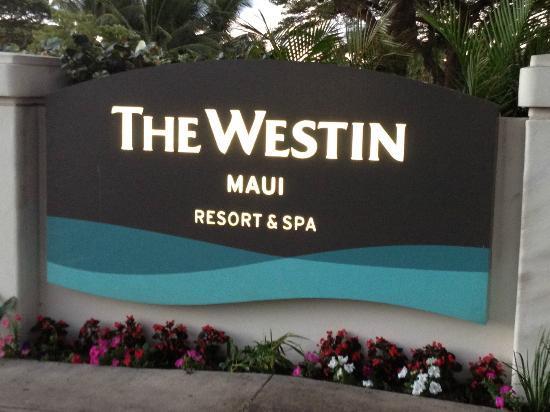 The Westin Maui Resort & Spa, Ka'anapali: front entrance