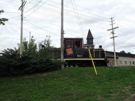 Sculpture Park locomotive