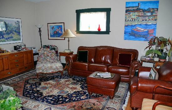 Gallagher's Irish Rose B&B: Common area in the Irish Rose B & B