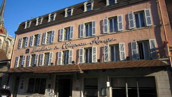 Hostellerie du Chapeau Rouge : Façade, rue Michelet, Dijon