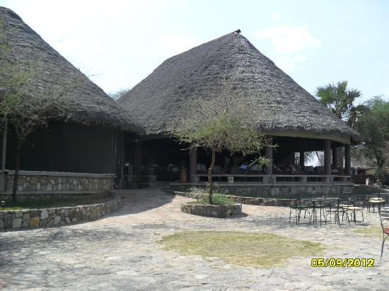 Tarangire Safari Lodge: Main Lodge
