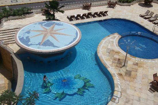 Aquaria Natal Hotel: Sacada do nosso quarto