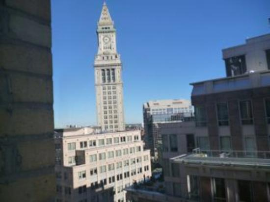 Hilton Boston Downtown / Faneuil Hall: View from #1418 looking towards North End