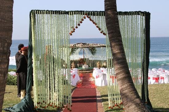 Salt Rock Hotel & Beach Resort: Wedding Venue