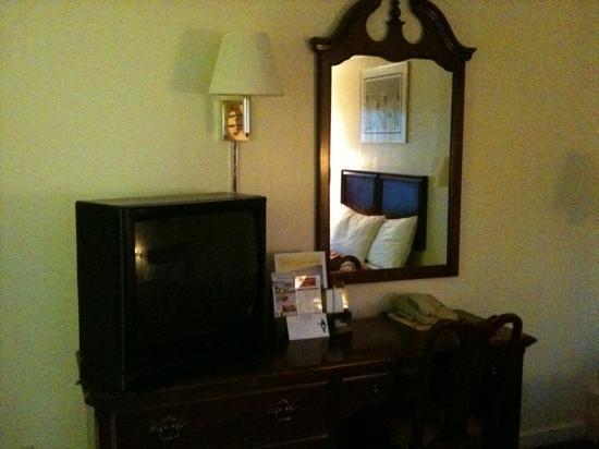 Travelers Inn: scrivania