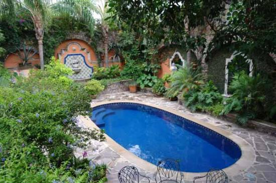 Hacienda del Lago Boutique Hotel: Pool