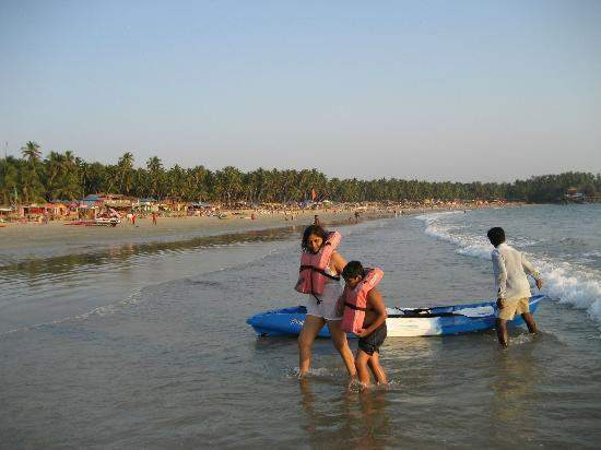 Palolem Beach : Water sports