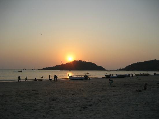 Palolem Beach : Sun-set
