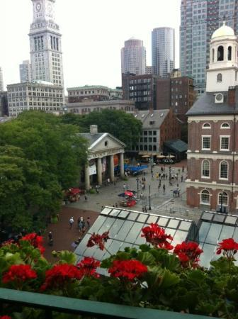 The Bostonian Boston: View of Quincy Market from out balcony!