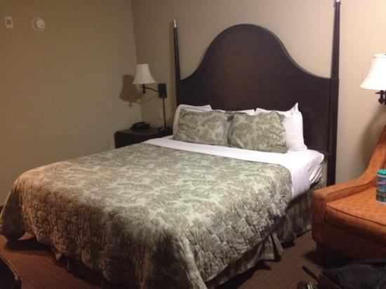 Inn at Mulberry Grove: king bed