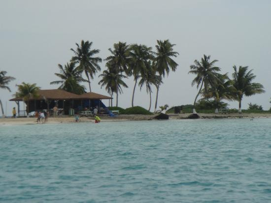 Goff's Caye: Beach