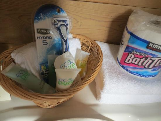 Alpine Motel: More appreciated to toiletries