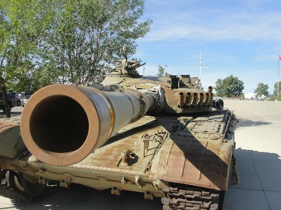 The Military Museums : tank