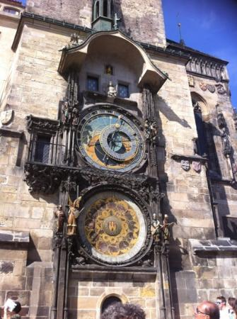 Hotel Praga 1: astronomical clock