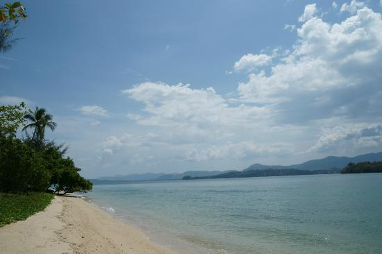 The Naka Island, A Luxury Collection Resort & Spa Phuket: The beach