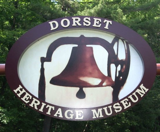 Dorset, Canada: Entrance sign out in front of the museum.