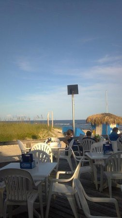 Blue Parrot : View from the dinner table!