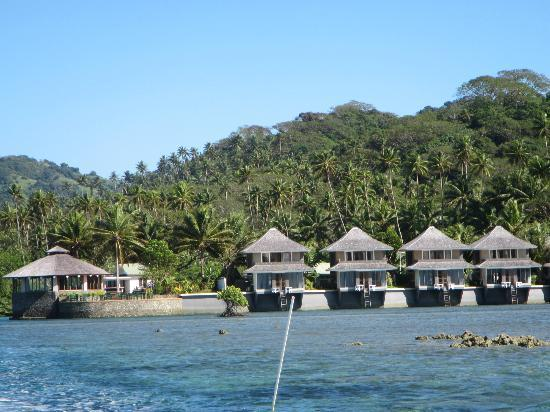 Koro Sun Resort and Rainforest Spa: Our room from the water