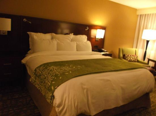 Hanover Marriott: Nice, comfortable bed