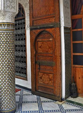 Riad Dar Dmana: Another detail of side door on first floor.