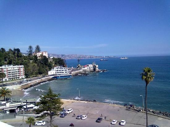 Hotel del Mar - Enjoy Vina del Mar - Casino & Resort: preciosa vista desde la habitacion