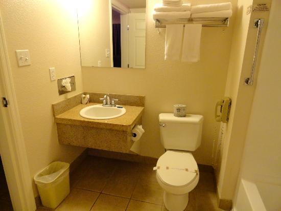 Homewood Suites by Hilton Tucson/St. Philip's Plaza University : Very clean bathroom