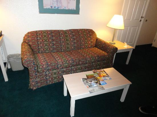 Homewood Suites by Hilton Tucson/St. Philip's Plaza University: Couch with pull-out bed