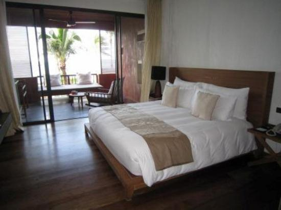Hansar Samui Resort: Room 1208 - standard sea view room