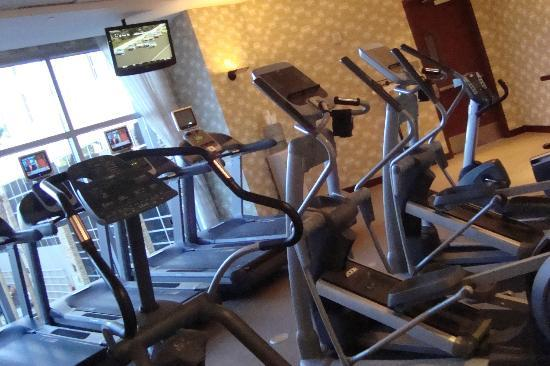 Renaissance Las Vegas Hotel: treadmills/workout room